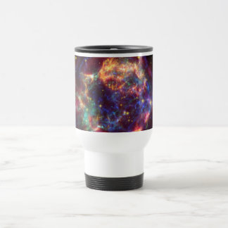 Cassiopeia Galaxy Supernova remnant Travel Mug