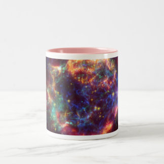 Cassiopeia Galaxy Supernova remnant Two-Tone Coffee Mug