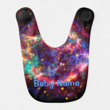 Cassiopeia, Milky Ways Youngest Supernova Baby Bib