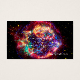 Cassiopeia, Milky Ways Youngest Supernova Business Card