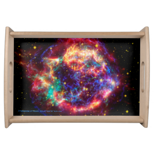 Cassiopeia, Milky Ways Youngest Supernova Service Trays