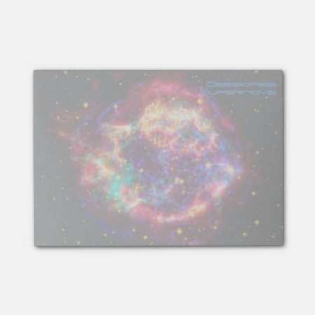 Cassiopeia, Milky Ways Youngest Supernova Post-it® Notes