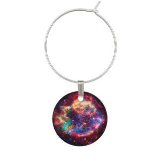 Cassiopeia, Milky Ways Youngest Supernova Wine Charm