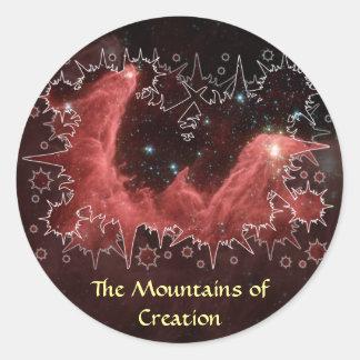 Cassiopeia Nebula - Sticker #2