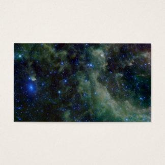 Cassiopeia nebula within the Milky Way Galaxy Business Card
