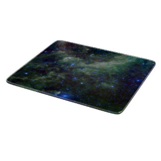 Cassiopeia nebula within the Milky Way Galaxy Cutting Board