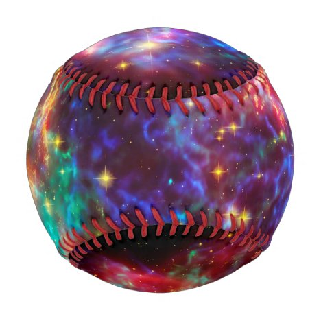 Cassiopeia Supernova Explosion, outer space sports Baseball