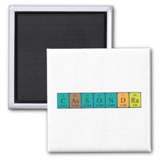 Cassondra periodic table name magnet