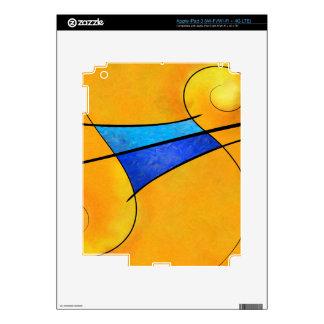 Cassopella V1 - música sin fin Pegatina Skin Para iPad 3