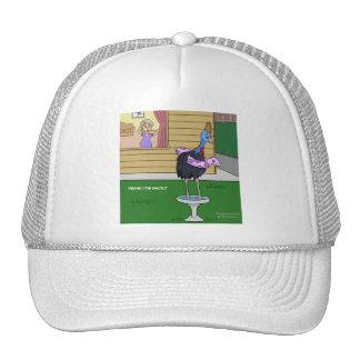 Cassowary Bird Bath Hat