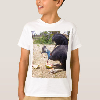 Cassowary Bird Eating Melons, T-Shirt