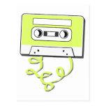 Casssette retro postales