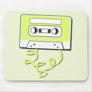 Casssette retro tapete de raton