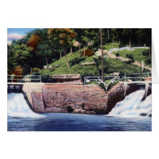 Cassville Missouri Twin Falls Roaring Spring Park Card