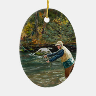 Cast Away Ceramic Ornament