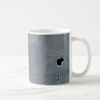 Cast Iron at 150 microns Classic White Coffee Mug