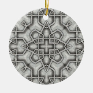 Cast Iron Ceramic Ornament