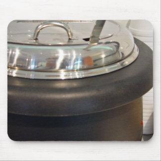 Cast Iron soup kettle Mouse Pad