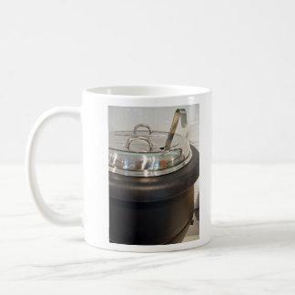 Cast Iron soup kettle Classic White Coffee Mug