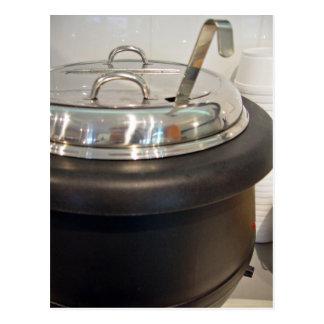 Cast Iron soup kettle Postcard