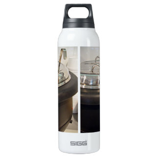 Cast Iron soup kettle 16 Oz Insulated SIGG Thermos Water Bottle