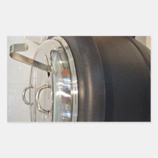 Cast Iron soup kettle Rectangular Sticker