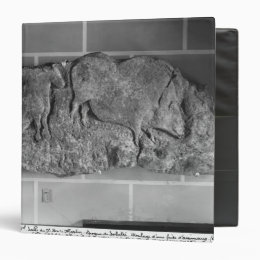 Cast of a frieze of animals from Le Roc de Sers Binder