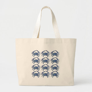 Cast of Crabs Large Tote Bag