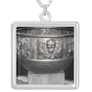 Cast of the Gundestrup Cauldron Silver Plated Necklace