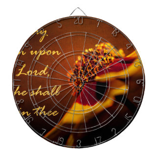 Cast thy Burden Upon the Lord Dartboards