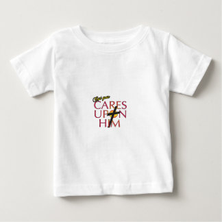 cast your cares upon him baby T-Shirt