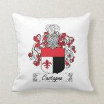 Castagna Family Crest Pillows