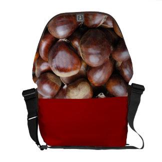 Castañas dulces bolsa messenger