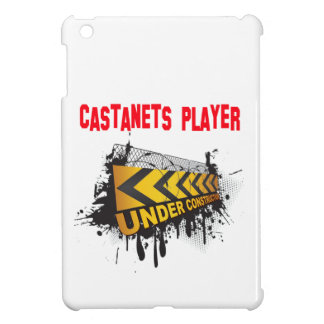 Castanets player under construction iPad mini cover