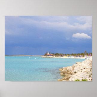 Castaway Cay Beach Poster