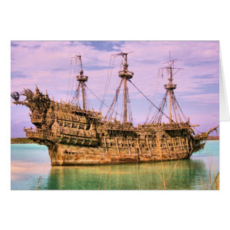 Castaway cay pirates of the Caribbean Card