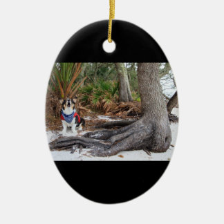 Castaway Ceramic Ornament