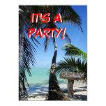 Castaway Party 2 5x7 Paper Invitation Card
