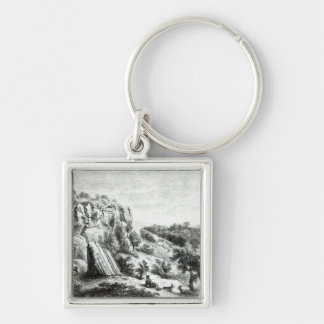 Castel d'Asso, from the Necropolis Keychain