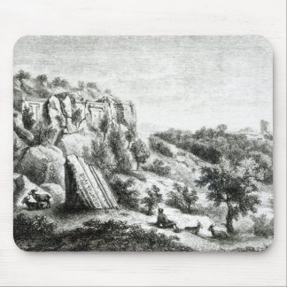Castel d'Asso, from the Necropolis Mouse Pad