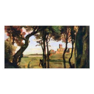 Castel Gandolfo de Corot Jean-Baptiste-Camilo (sea Tarjeta Fotográfica