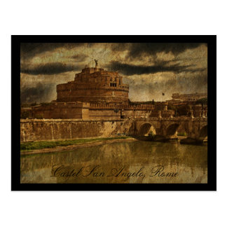 Castel San Angelo, Rome Postcard