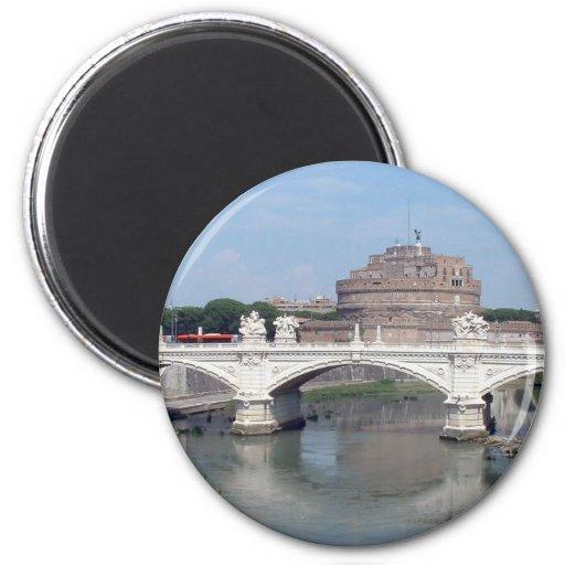 Castel Sant Angelo 2 Inch Round Magnet