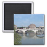Castel Sant Angelo 2 Inch Square Magnet