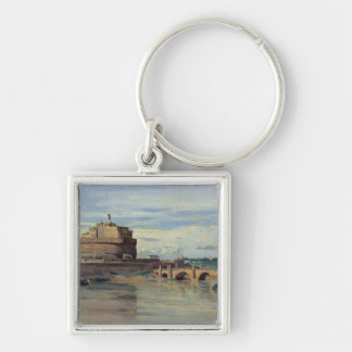 Castel Sant' Angelo and the River Tiber, Rome Keychain