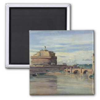 Castel Sant' Angelo and the River Tiber, Rome Magnet