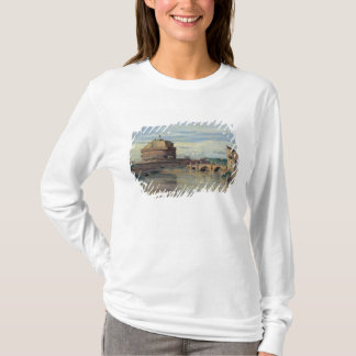 Castel Sant' Angelo and the River Tiber, Rome T-Shirt