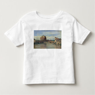 Castel Sant' Angelo and the River Tiber, Rome Toddler T-shirt