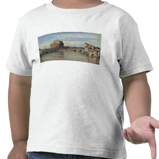 Castel Sant' Angelo and the River Tiber, Rome T Shirt