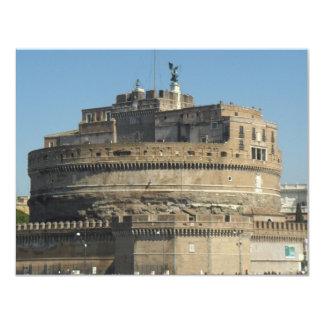 Castel Sant Angelo 4.25x5.5 Paper Invitation Card